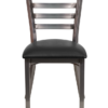 8316-CC-Metal-Clear-Coat-Ladderback-Dining-Chair-Black-Vinyl-Padded-Seat-Front-View.png
