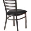 8316-CC-Metal-Clear-Coat-Ladderback-Dining-Chair-Black-Vinyl-Padded-Seat-Rear-Angle-View.png